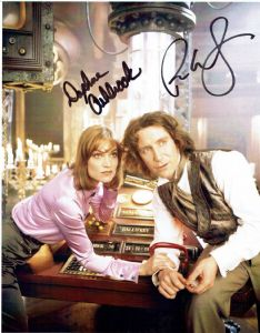 Paul McGann  - Daphne Ashbrook DOCTOR WHO The Movie - Genuine Signed Autograph 10X8  11273